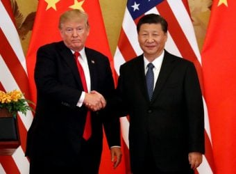 Trump disrupts China's trade show